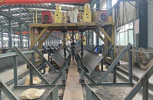 Production details, welding